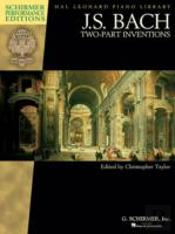 J.S. Bach Two Part Inventions