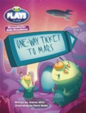 Julia Donaldson Plays One-Way Ticket To Mars (Turquoise)