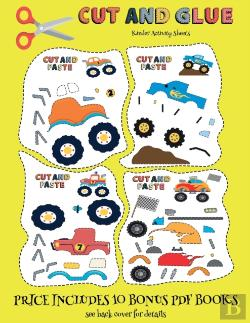 Bertrand.pt - Kinder Activity Sheets (Cut And Glue - Monster Trucks)