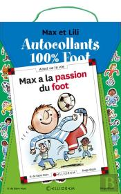 Kit Foot M&L Pochette Stickers +  Max Foot Coupe Monde 2018