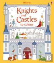Knights And Castles To Colour