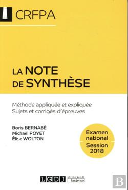 Bertrand.pt - La Note De Synthese 7eme Edition