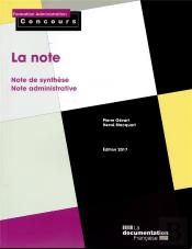 La Note ; Note De Synthese, Note Administrative