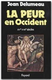 La Peur En Occident (Broche)