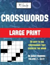Large Print Crossword Puzzles (Vol 2 - Easy)