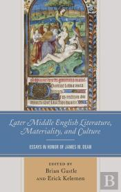 Later Middle English Literature, Materiality, And Culture