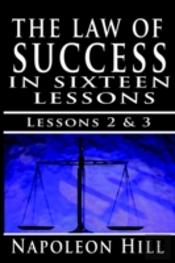 Law Of Success, Volume Ii & Iii