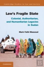 Law'S Fragile State