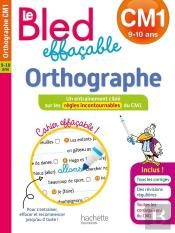 Le Bled Effacable Orthographe Cm1