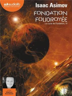 Bertrand.pt - Le Cycle De Fondation - T04 - Fondation Foudroyee - Le Cycle De Fondation, Iv - Livre Audio 2 Cd Mp3