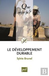 Le Developpement Durable (5ed) Qsj 3719