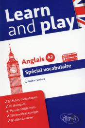 Learn And Play Special Vocabulaire Anglais Niveau A2