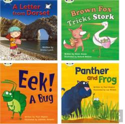 Bertrand.pt - Learn To Read At Home With Phonics Bug: Pack 5 (Pack Of 4 Reading Books With 3 Fiction And 1 Non-Fiction)