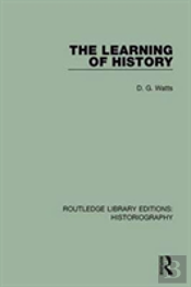 Learning Of History Rle Historiog
