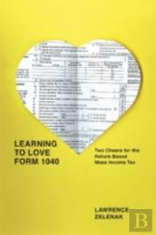 Learning To Love Form 1040