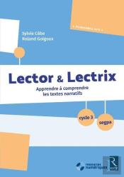Lector Et Lectrix Cycle 3 + Cd Rom Ne
