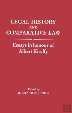 Bertrand.pt - Legal History And Comparative Law