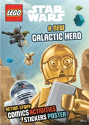 Lego Star Wars: A New Galactic Hero (Sticker Poster Book)