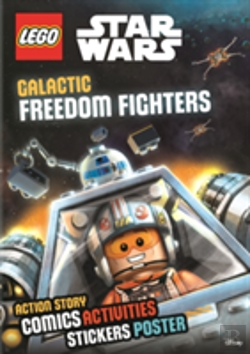 Bertrand.pt - Lego Star Wars: Galactic Freedom Fighters (Sticker Poster Book)