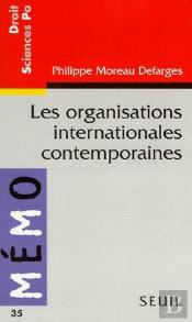 Les Organisations Internationales Contemporaines