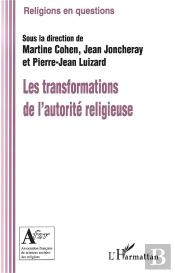 Les Transformations De L'Autorite Religieuse