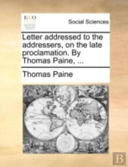 Bertrand.pt - Letter Addressed To The Addressers, On T