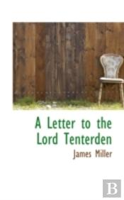 Letter To The Lord Tenterden
