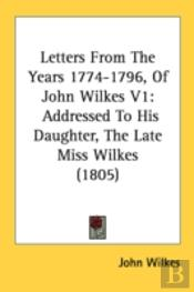 Letters From The Years 1774-1796, Of Joh