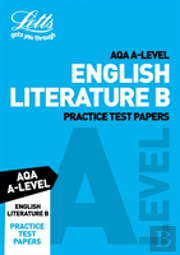 Letts Aqa A-Level English Literature Practice Test Papers