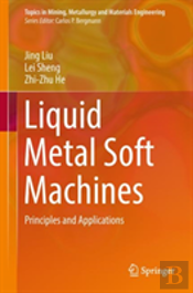 Liquid Metal Soft Machines