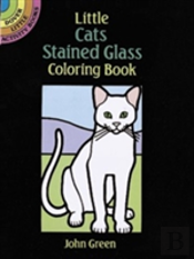 Little Cats Stained Glass