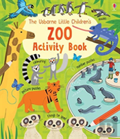 Little Children'S Zoo Activity Book