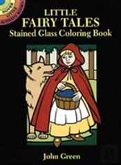 Little Fairy Tales Stained Glass Colouring Book