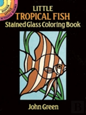 Little Tropical Fish Stained Glass
