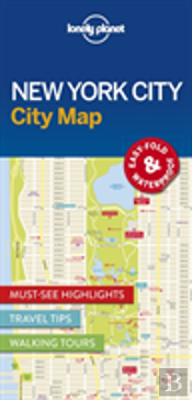 Lonely Planet New York City Map