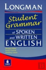 Longman Student'S Grammar Of Spoken And Written English