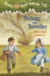 Magic Tree House #23: Twister On Tu
