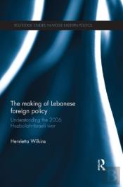 Making Of Lebanese Foreign Policy