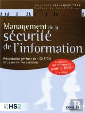 Management De La Securite De L'Information, 4e Edition