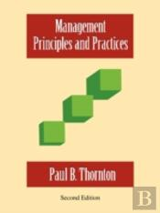 Management-Principles And Practices - Second Edition