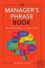 Manager'S Phrase Book
