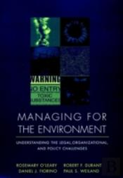 Managing For The Environment