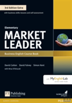 Bertrand.pt - Market Leader Extra Elementary Coursebook And Myenglishlab Pin Pack