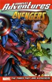 Marvel Adventures The Avengerstimes They Are A-Changin' Digest