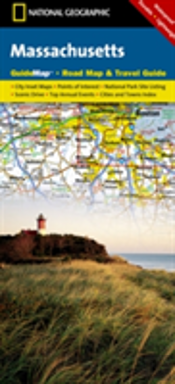 Massachusetts State Guide Map National Park