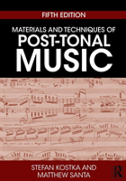 Bertrand.pt - Materials And Techniques Of Post-Tonal Music