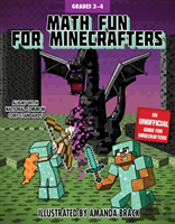Math Fun For Minecrafters: Grades 3-4