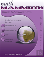 Math Mammoth Grade 5 Answer Keys