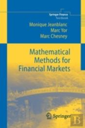 Mathematical Methods For Financial Markets