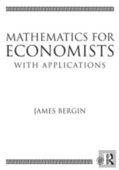 Mathematics For Economists With Applications